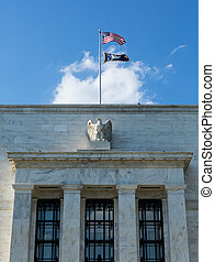 建築物, 聯邦, hq, 華盛頓特區, 儲備