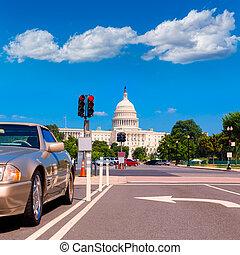 建築物, 華盛頓 國會大廈, 美國, dc