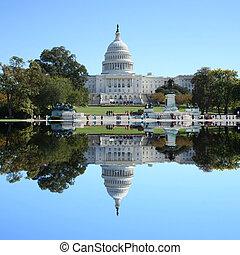 建築物, 華盛頓 國會大廈, dc