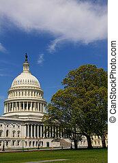 建築物, 華盛頓, 州議會大廈, 我們, dc