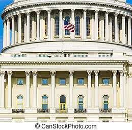 建築物, 首都, 華盛頓