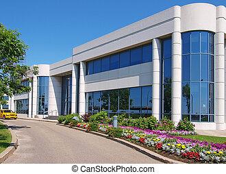 建築物, entranceway, 工業園區