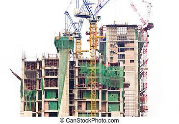 建設, 建筑物。