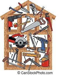 建設, 房子