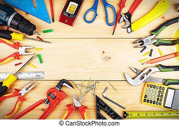 建設, tools.