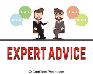 建議, 概念, 專家, 事務