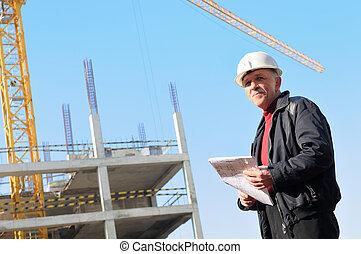 建造者, 建築工地