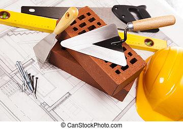 建造設備, 建設