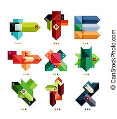 彙整, 形狀, 幾何學, 事務, 鮮艷