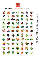 形狀, 摘要, 集合, 幾何學, 鮮艷