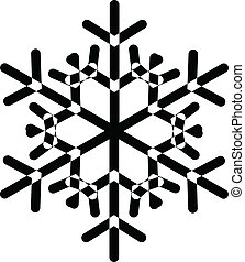形狀, 雪花