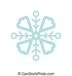 形狀, 雪花, 風俗