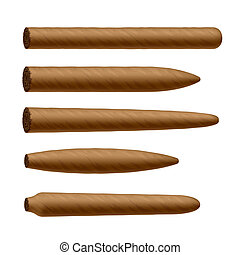 形狀, 雪茄