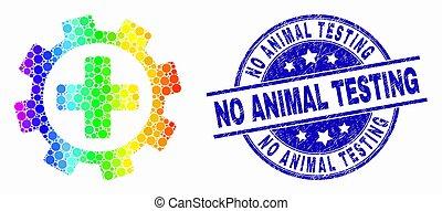 彩虹, 悲痛, 服務, 不, 醫學, 測試, 矢量, 動物, 封印, 齒輪, 圖象, 點, 上色