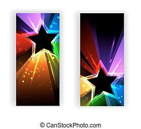 彩虹, 旗幟, 光線