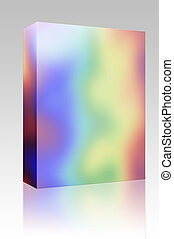 彩虹, 箱子, 顏色, 包裹