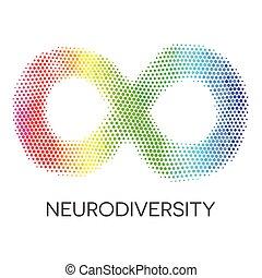 彩虹, loop., 無限, neurodiversity, 符號。