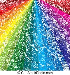 彩虹grunge, 背景