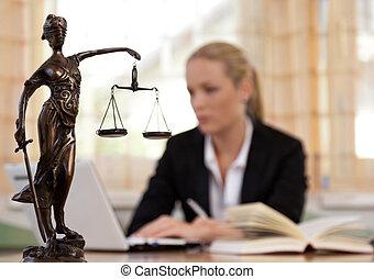 律師, 辦公室