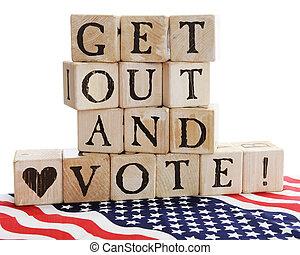 得到, vote!, 在外