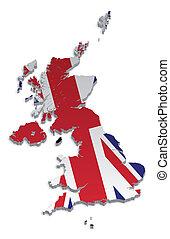 從屬物, 英國, 4, 地圖, 王冠