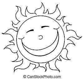 微笑, 吉祥人, 概述, 太陽