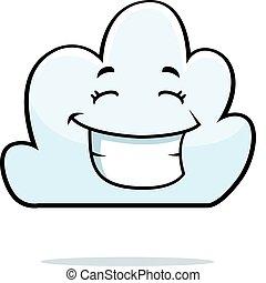 微笑, 雲