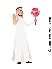 徵候。, 穆斯林, 停止, 藏品, 商人, 路