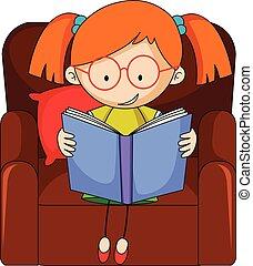心不在焉地亂寫亂畫, 女孩讀物, 書