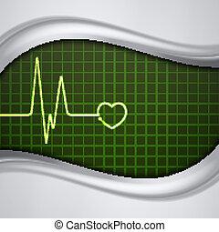 心監視器, 脈衝