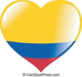 心, 哥倫比亞