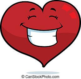 心, 微笑