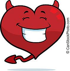 心, 微笑, 魔鬼