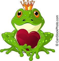 心, 青蛙