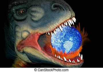 恐龍, 全球變暖, 方式