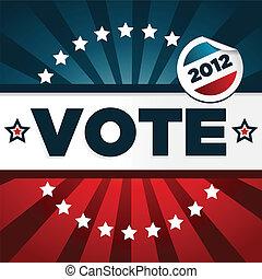 愛國, 海報, 投票