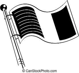 愛爾蘭語, 藝術, 夾子, 旗, 愛爾蘭, 或者