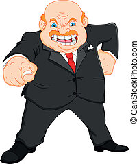 憤怒, (businessman), 老板