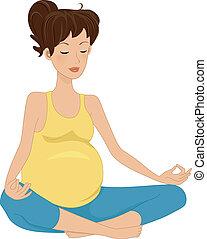 懷孕, 沉思