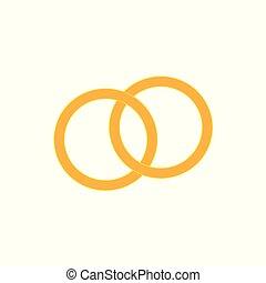 戒指, 金, 婚禮