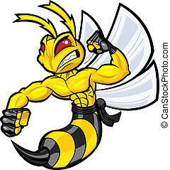 戰斗, 大黃蜂