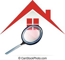 房子, 搜尋, 標識語
