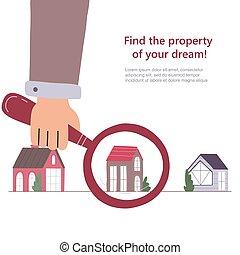 房子, 搜尋, 選擇