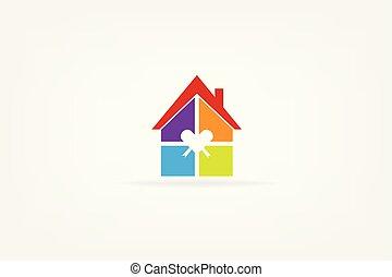房子, 標識語