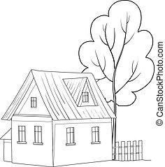 房子, 樹
