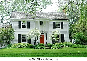 房子, 白色