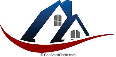 房子, 符號, 屋頂