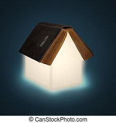 房子, 聖經, 打開