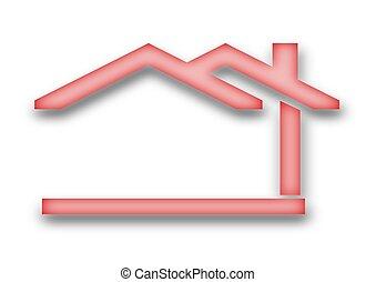 房子, 雙坡屋面