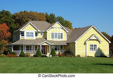 房子, 黃色